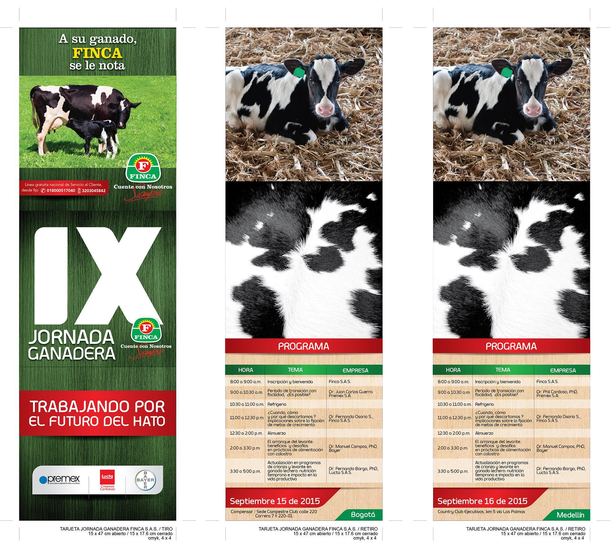 IX Jornada Ganadera brochure